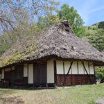 茅葺き屋根の古民家