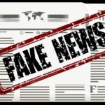 fake newsの新聞紙